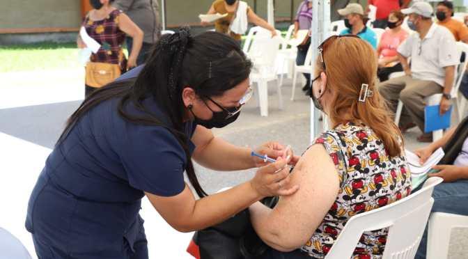 Invita Gobierno Municipal a personas de 40-49 y embarazadas a vacunación contra COVID-19