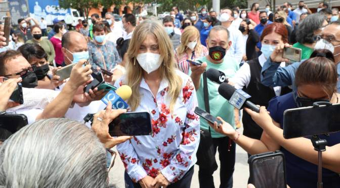 Atiende Municipio a víctimas inocentes de enfrentamientos: Alcaldesa Maki Ortiz.
