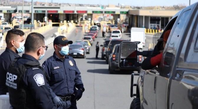 EE.UU. extiende hasta agosto cierre de frontera terrestre con México por COVID-19