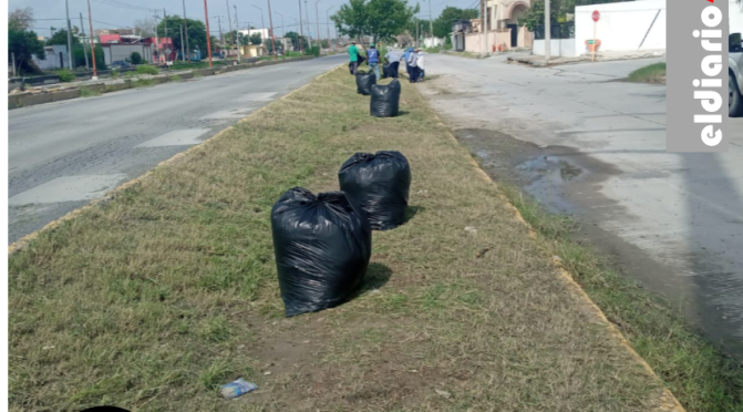 Retira Municipio llantas, basura y cacharros de la vía pública