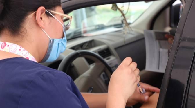 En Reynosa Inicia mañana martes 27 Vacunación anti ⚠️COVID-19 para 👉18-39 años y embarazadas.