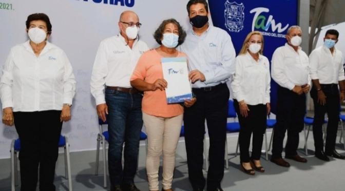 BRINDA GOBIERNO DE TAMAULIPAS CERTEZA JURÍDICA Y PATRIMONIAL A LAS FAMILIAS TAMAULIPECAS