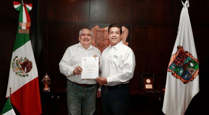 Nombra Gobernador a Guadalupe Acosta Naranjo como titular de Oficina de Representación del GobTam en CDMX.