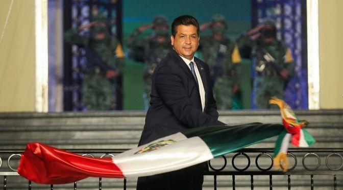 Conmemora Gobernador Francisco Cabeza de Vaca el 211 Aniversario de la Independencia de México.