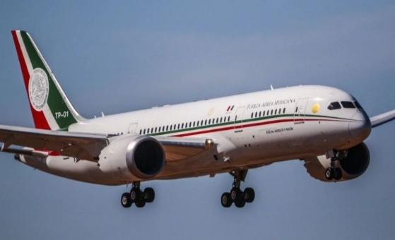 Captan al avión presidencial 🇲🇽 sobrevolando el Golfo ¿Ya lo vendieron?