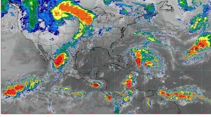 Al momento. Toda la información sobre El huracán Pamela