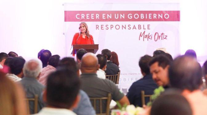 Reconocen a Maki Ortiz Empresarios y Asociaciones de Reynosa sus resultados de Gobierno