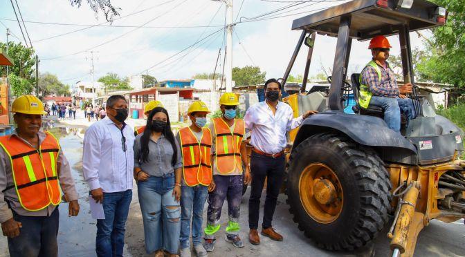 Rehabilitará Municipio drenaje sanitario de Leyes de Reforma.